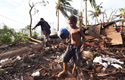 Cyclone Pam destroyed Vanuatu