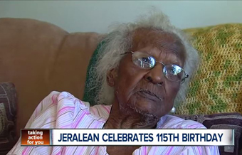 115-years-old Jeralean: trusting God