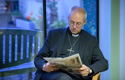 Welby: Much hate mail is written by Christians