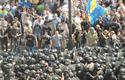 Violence after Ukraine backed more autonomy for Eastern regions