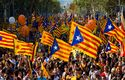 How do evangelical Christians see Catalonia's future?