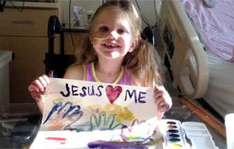 The 'miracle' girl who 'came back to life'
