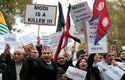 Hundreds protest against Modi's visit to the UK