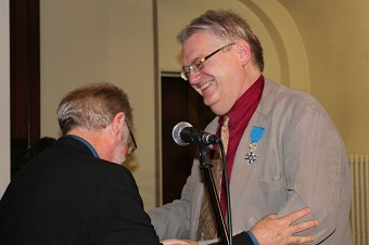 National Order of Merit awarded to Evangelical Council President