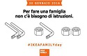 "Ikea Italy: ""No instructions needed to build a family"""