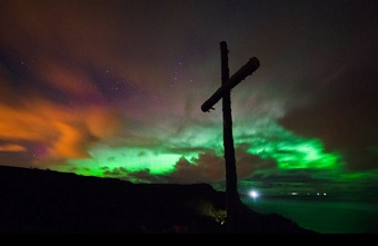 Impressive northern lights in UK, Ireland and Germany