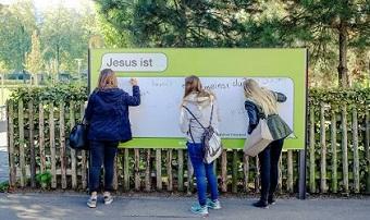 'Jesus is…' adverts in Switzerland