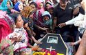 Christians in Lahore prepare a memorial service for the victims