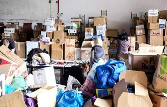 Overwhelming response to  a Catalan evangelical project to help refugees