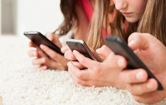 'Sexting' on the rise among children