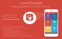 """Love-Europe app"": Helping refugees find what they need most"