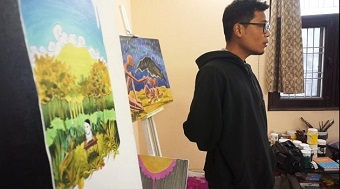 Christian students in India reflect on faith and arts