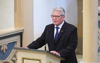 Joachim Gauck: 'Without Reformation, Germany would have become a different country'