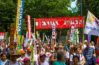 Austrian 'March for Jesus' gathered thousands