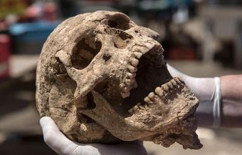 First-ever Philistine cemetery unearthed