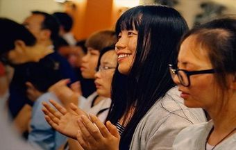 Christianity is growing among Chinese youth