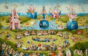 The splendid isolation of Hieronymus Bosch