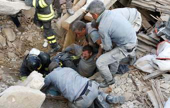 Evangelicals support Italy after the earthquake