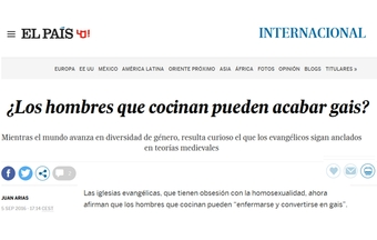 "Spanish newspaper believes hoax and calls evangelicals ""medieval"""