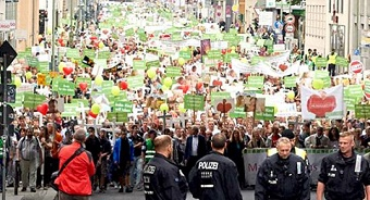 "Thousands joined ""March for Life"" in Germany and Switzerland"