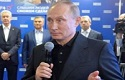 Putin-backed party sweeps in parliamentary election with low turnout