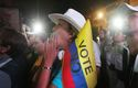 Colombians vote against peace agreement with FARC rebels