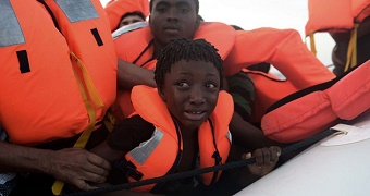 Thousands rescued in the Mediterranean