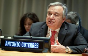New UN leader Guterres supports faith groups influence and work in society
