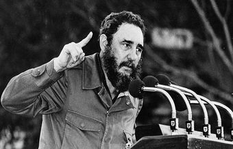 The night that the gospel was preached to Fidel Castro