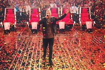 Winner of 'The Voice of Germany' is a Christian