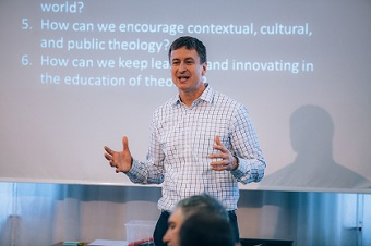 'Theological schools are mobilization centers for churches'