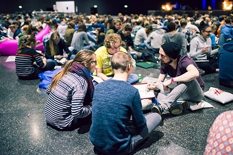 End-of-year youth camp challenged 6,500 to rediscover 'The Book'