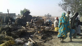Accidental airstrike kills dozens at Nigerian refugee camp