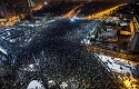 Romanian Christians join large anti-corruption protests