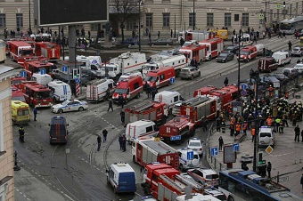 Explosion in St Petersburg metro kills fourteen