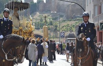 Spanish police claims the right not to attend religious parades