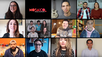 'Mosaico': YouTubers against the flow