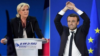 Macron will face Le Pen in French elections run-off