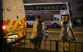 Manchester pop concert terrorist attack: 22 dead and 59 injured