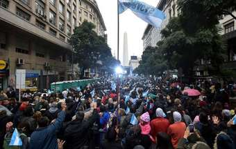 Around 50,000 prayed for Argentina's future in Buenos Aires