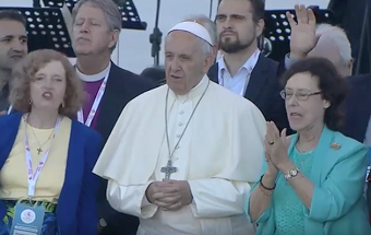 "Pope Francis and pastor Traettino promote ""path towards unity"""
