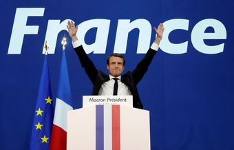 Macron wins big parliamentary majority amid record-low turnout
