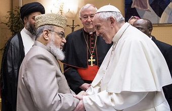 Would you ever ask Muslims to pray for you? Pope Francis did