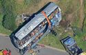 At least 34 people died in a church bus crash