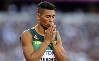 Van Niekerk thanks God after 400m gold medal