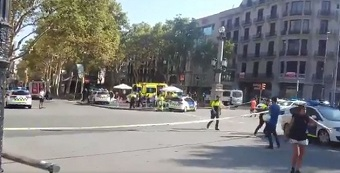 Barcelona attack: 13 killed and many injured