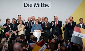 Angela Merkel wins but far-right populists become third force in Germany