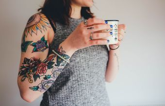 The ink for tattoos affects the immune system