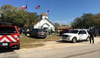 Gunman attacks Baptist church in Texas, 26 dead