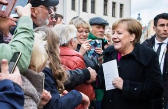 "Angela Merkel: ""While being imperfect, we receive God's grace"""